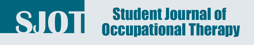 Student Journal of Occupational Therapy