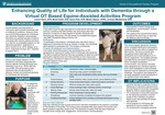 Enhancing Quality of Life for Individuals with Dementia through a Virtual OT Based Equine-Assisted Activities Program