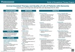 Animal-Assisted Therapy and Quality of Life of Patients with Dementia by Karissa D. Thomson, Kayla Collins, and Mary P. Shotwell