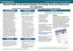 Mental Health in the School System: Providing Tools and Resources For Teachers