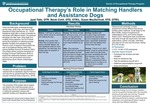 Occupational Therapy's Role in Matching Handlers and Assistance Dogs by Jyoti K. Tatla, Becki Cohill, and Susan MacDermott