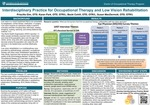 Interdisciplinary Practice for Occupational Therapy and Low Vision Rehabilitation by Priscilla Gim, Karen Park, Becki Cohill, and Susan MacDermott