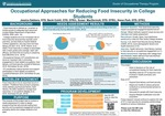 Occupational Approaches for Reducing Food Insecurity in College Students