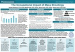 The Occupational Impact of Mass Shootings