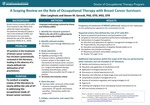A Scoping Review on the Role of Occupational Therapy with Breast Cancer Survivors